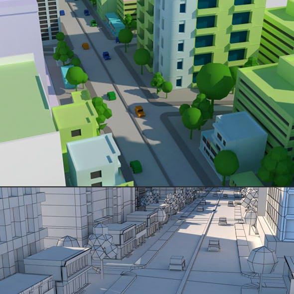 Cartoon City Model 1