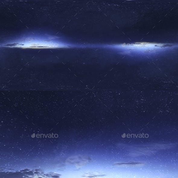 Skydome HDRI - Starlight Sky