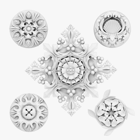 Architectural Ornament vol 04 - 3DOcean Item for Sale