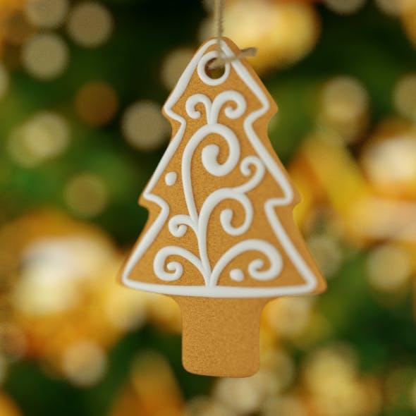 Christmas Cookies Tree - 3DOcean Item for Sale