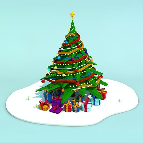 Low Poly Christmas Tree