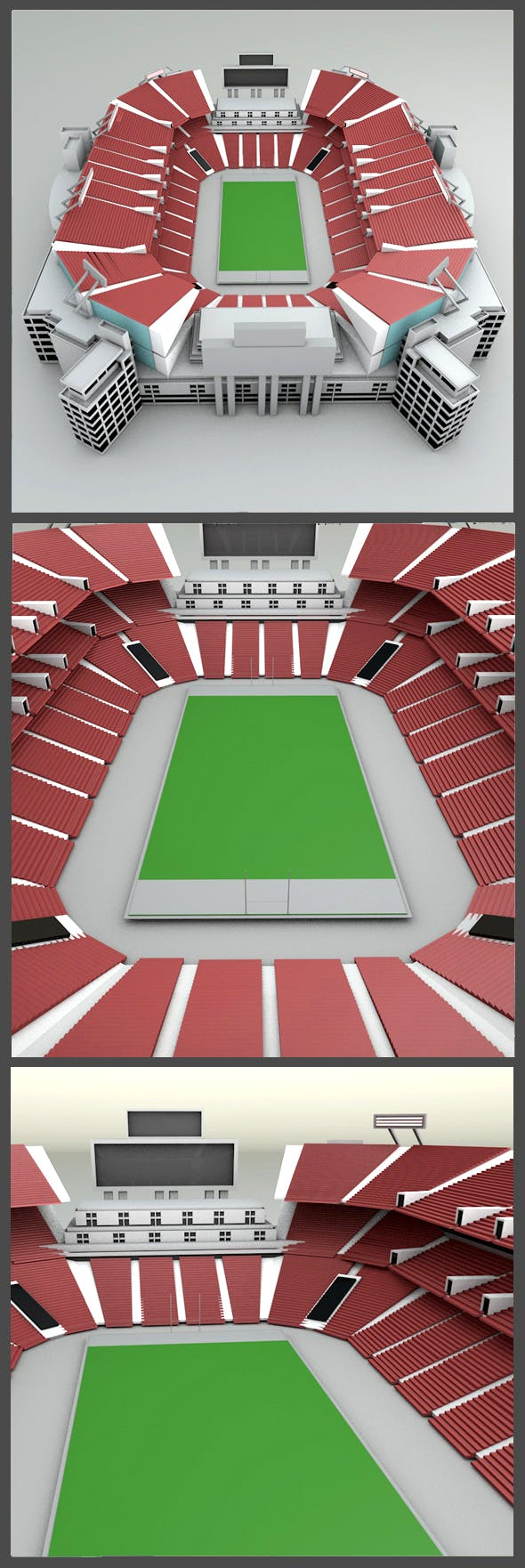 Raymond James Stadium - 3DOcean Item for Sale
