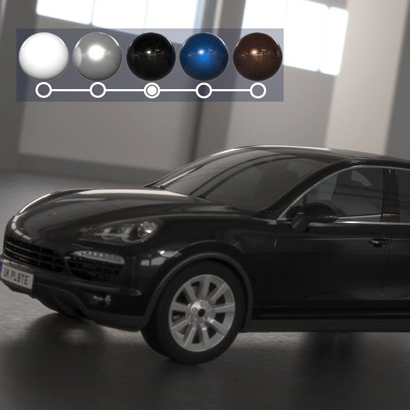 Porsche Cayenne - 3DOcean Item for Sale