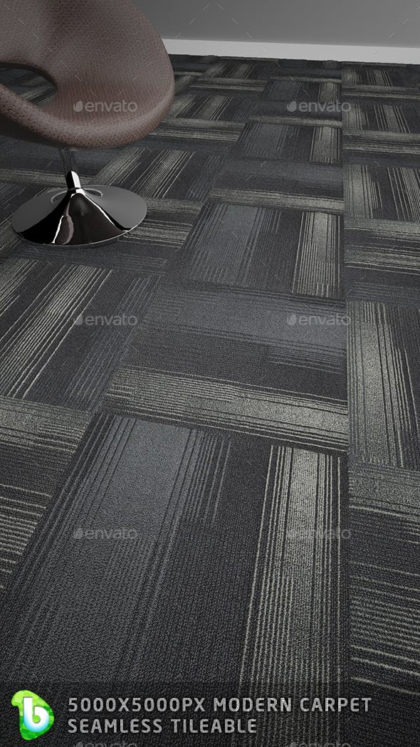 Modern Carpet -Criss Cross - 3DOcean Item for Sale