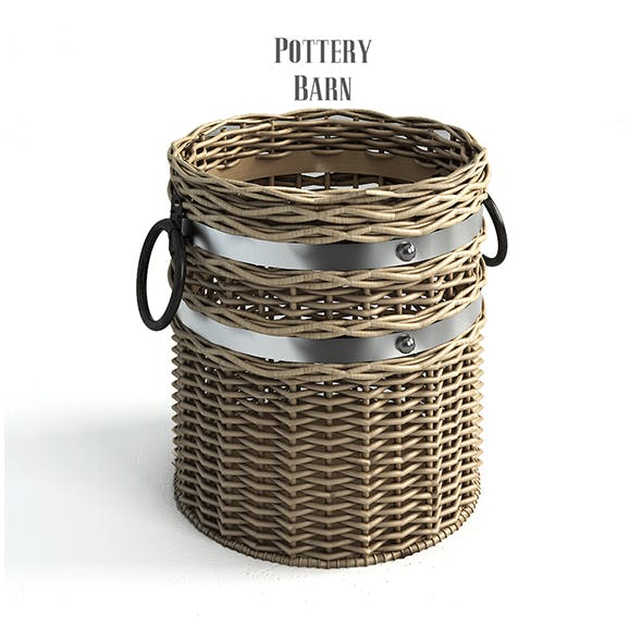 Pottery barn, Cask Crocks. - 3DOcean Item for Sale