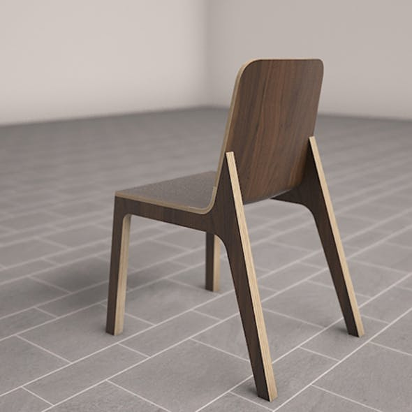 3D  Ono Dining Chair Model