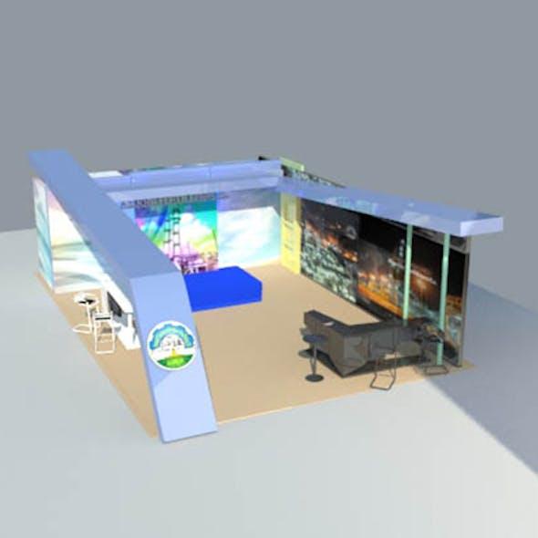 sahara exhibition booth