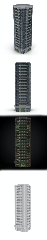 Skyscraper_1 - 3DOcean Item for Sale