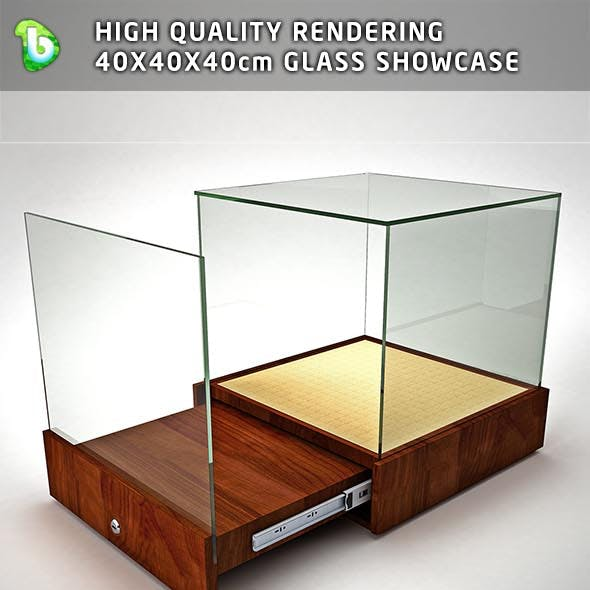 GLASS SHOWCASE - TABLE TOP