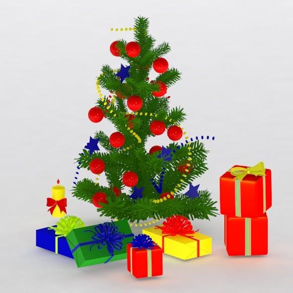 christmas tree&gift