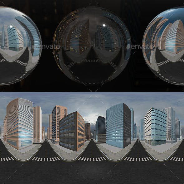 HDRI City Pack Layout1 V1