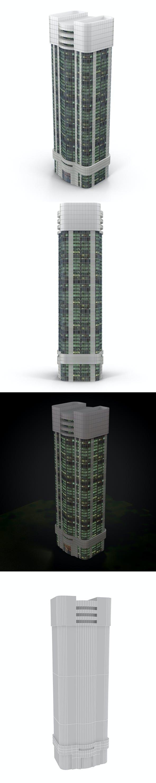 skyscraper_2 - 3DOcean Item for Sale