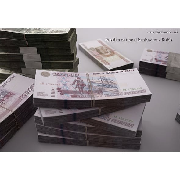 Russian-Rubles