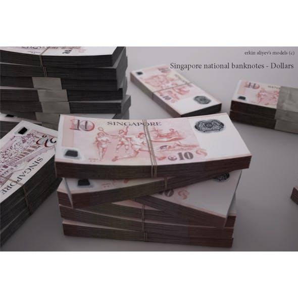 Singaporean-Dollars - 3DOcean Item for Sale