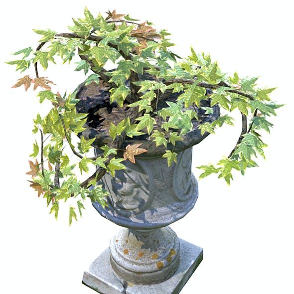 Flower Pot Exterior Decoration