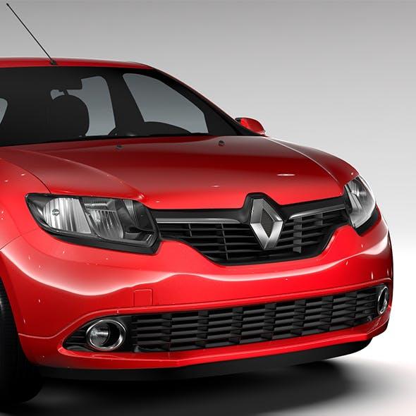 Renault Sandero 2015 - 3DOcean Item for Sale