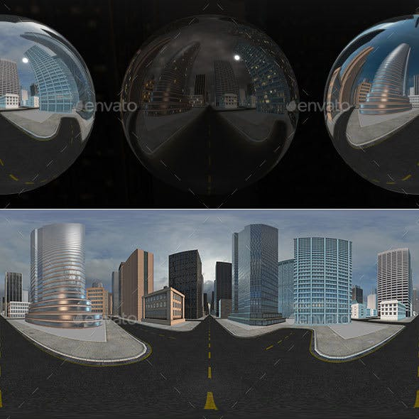 HDRI City Pack Layout3 V2