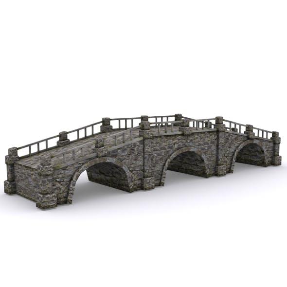 Old stone bridge - 3DOcean Item for Sale