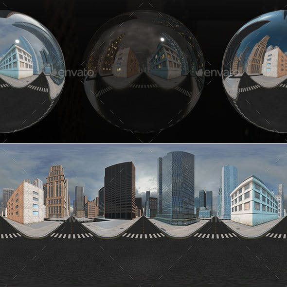 HDRI City Pack Layout4 V1