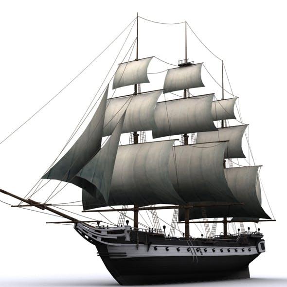 warship corvette