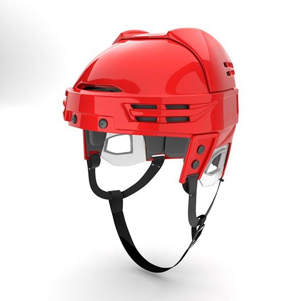 Ice Hockey Helmet Model - 3DOcean Item for Sale