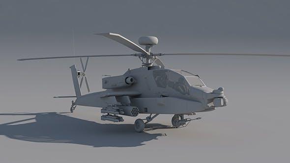 Boeing AH-64 Apache - 3DOcean Item for Sale