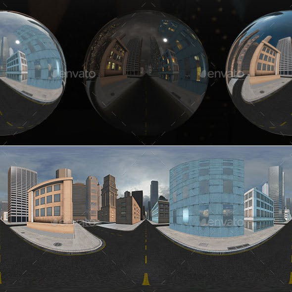 HDRI City Pack Layout4 V2