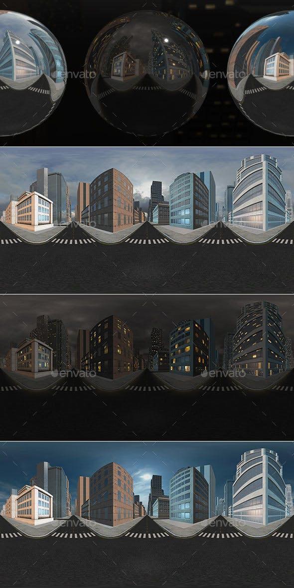 HDRI City Pack Layout5 V1 - 3DOcean Item for Sale