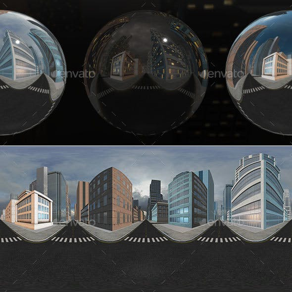 HDRI City Pack Layout5 V1