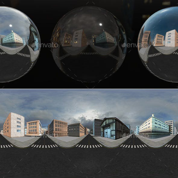 HDRI City Pack Layout6 V1
