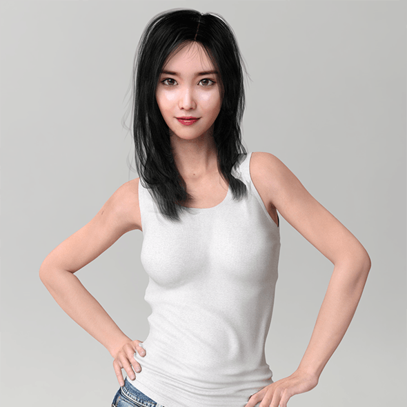 Realistic Korean Beauty
