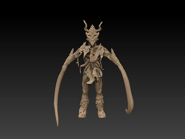 Diablo (Character) Call it what you want - 3DOcean Item for Sale