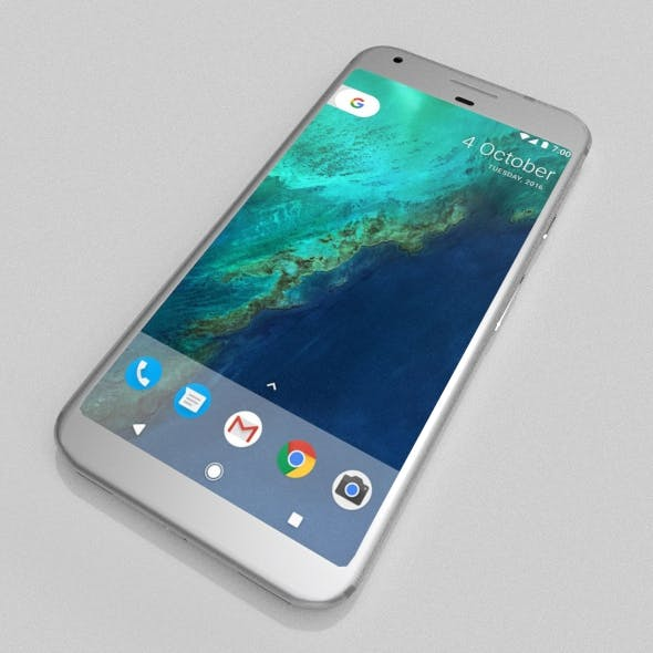 Google Pixel Smartphone - 3DOcean Item for Sale