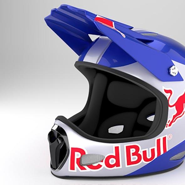 Extreme Motocross Fullface Helmet