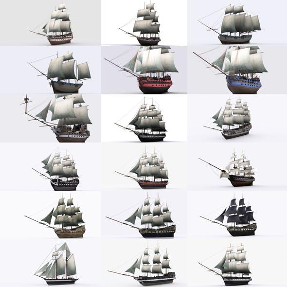 17 sailing ship