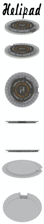 Helipad - 3DOcean Item for Sale