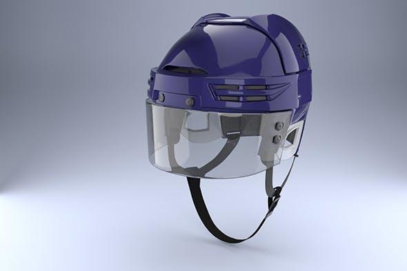 Ice Hockey with Glass Visor Model - 3DOcean Item for Sale