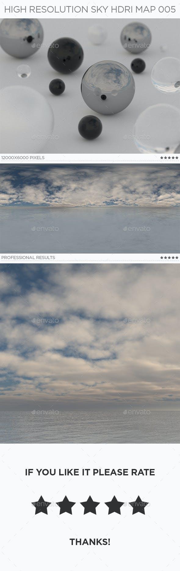 High Resolution Sky HDRi Map 005 - 3DOcean Item for Sale