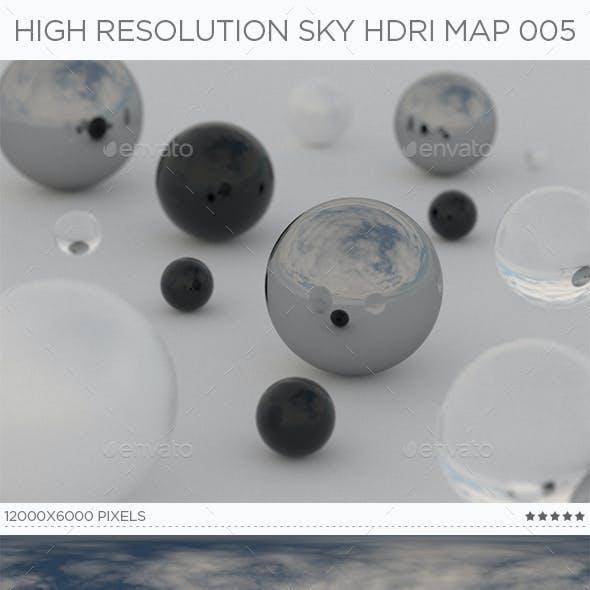 High Resolution Sky HDRi Map 005