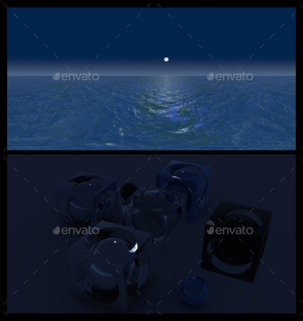 Ocean Night 4 - HDRI - 3DOcean Item for Sale