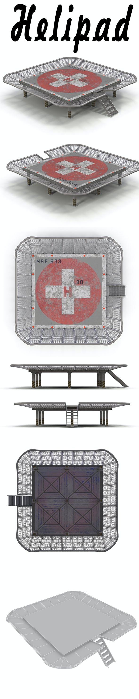 Helipad 2 - 3DOcean Item for Sale
