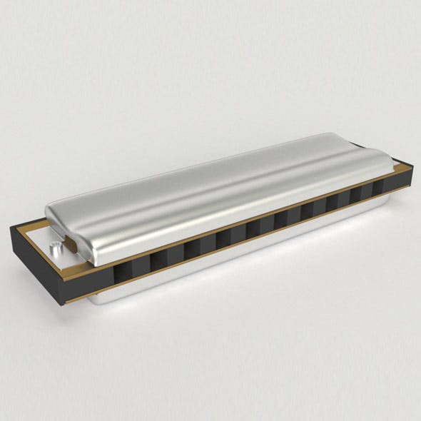 Harmonica - 3DOcean Item for Sale