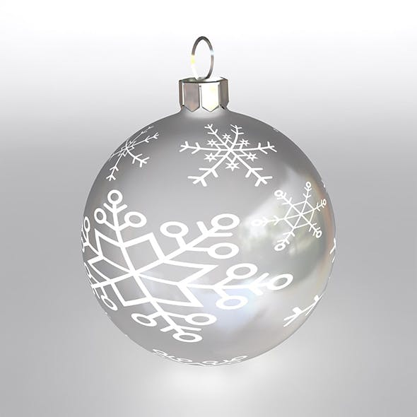 Christmas Ball 6 - 3DOcean Item for Sale