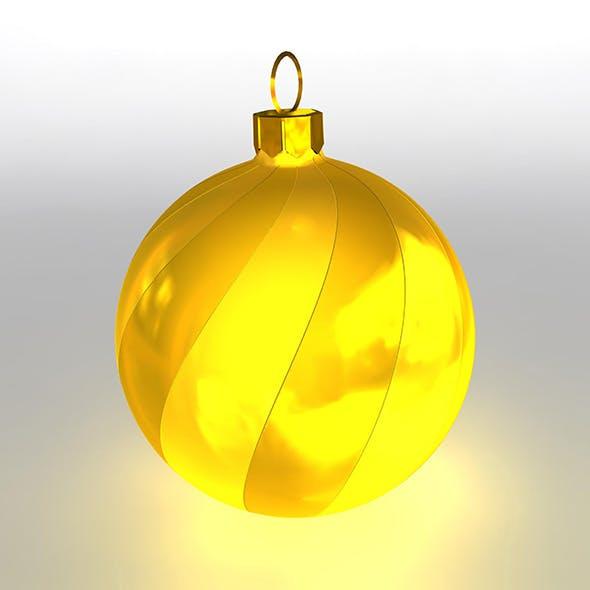 Christmas Ball 9 - 3DOcean Item for Sale