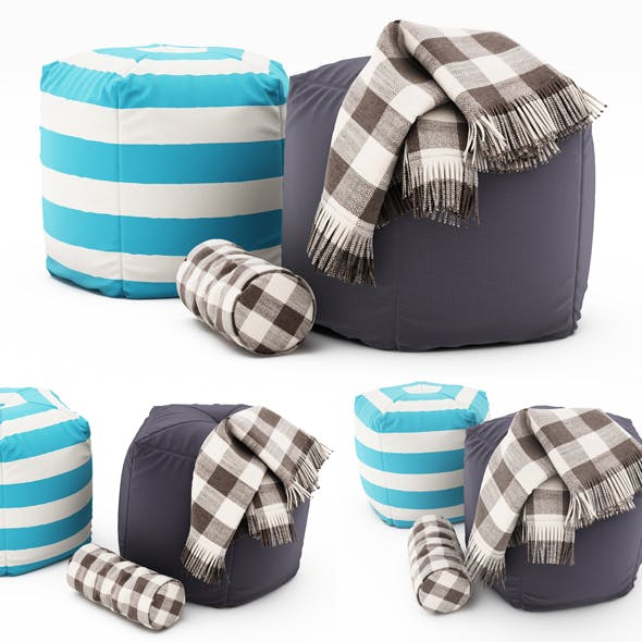 Pouf collection 10
