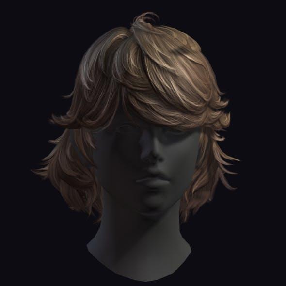 Hair 9 - 3DOcean Item for Sale