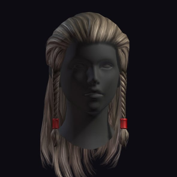 Hair 10 - 3DOcean Item for Sale