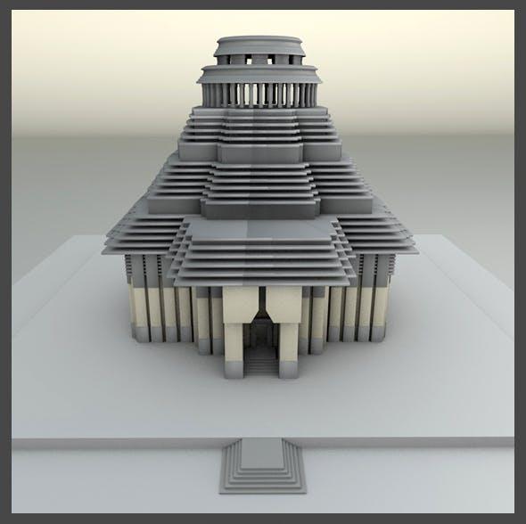 Sun Temple - 3DOcean Item for Sale