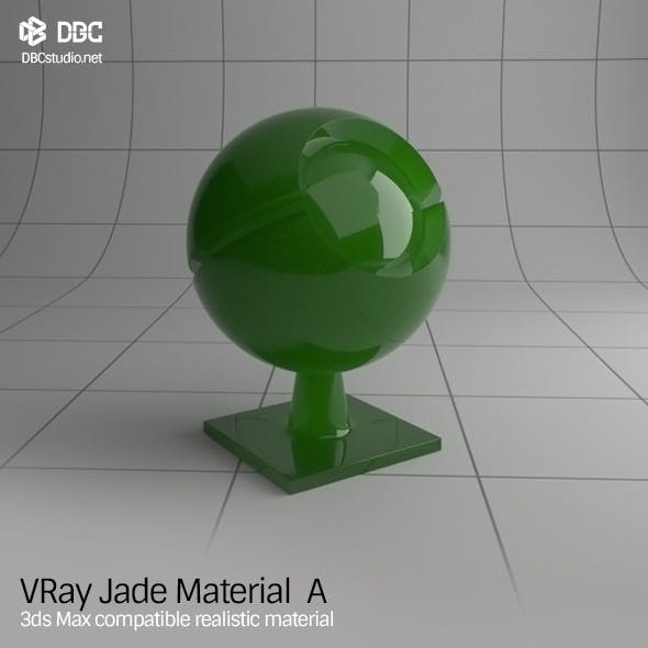 3ds Max V-Ray (Ver 3.4) Jade Material A