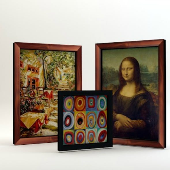 A set of paintings